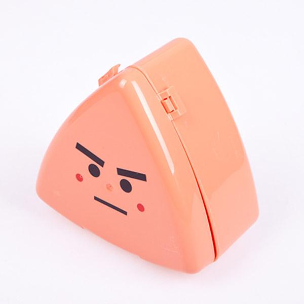 휴대용 캐릭터 삼각김밥 케이스