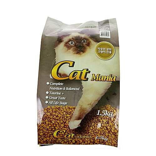 캣매니아 (고양이전용)1.5kg