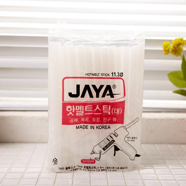 자야 핫멜트스틱-대 [제작 대량 도매 로고 인쇄 레이저 마킹 각인 나염 실크 uv 포장 공장 문의는 네이뽕]