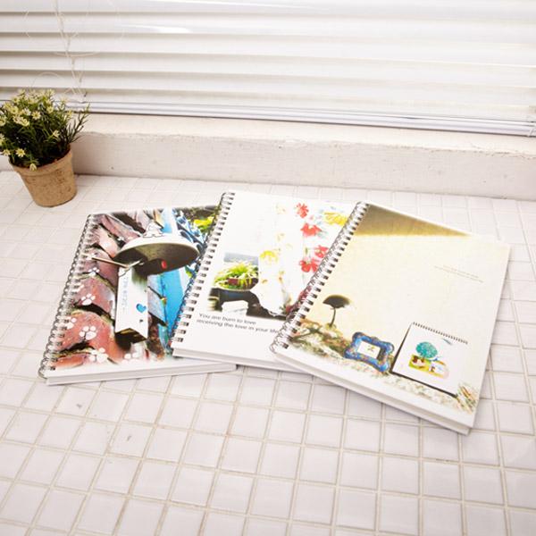 합지노트-중 25절 색상랜덤발송 2000 [제작 대량 도매 로고 인쇄 레이저 마킹 각인 나염 실크 uv 포장 공장 문의는 네이뽕]