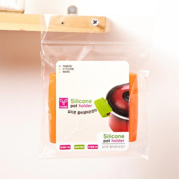 실리콘 콤비 냄비 손잡이 (색상랜덤)