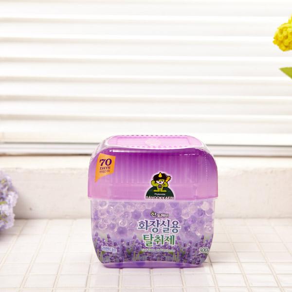 화장실용 탈취제 라벤더 [제작 대량 도매 로고 인쇄 레이저 마킹 각인 나염 실크 uv 포장 공장 문의는 네이뽕]