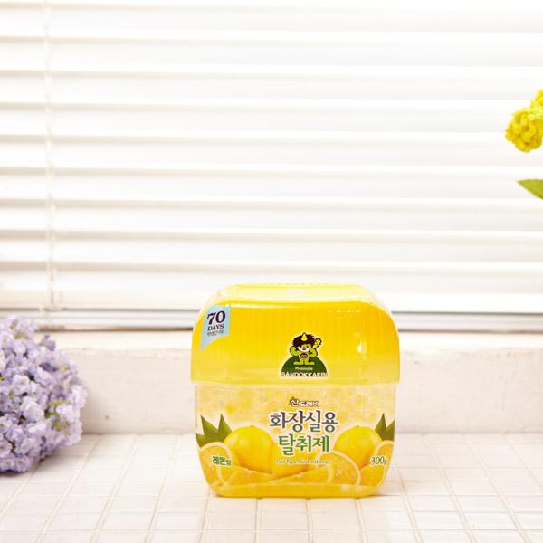화장실용 탈취제 레몬 [제작 대량 도매 로고 인쇄 레이저 마킹 각인 나염 실크 uv 포장 공장 문의는 네이뽕]