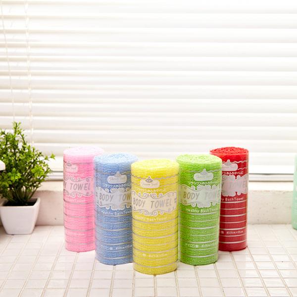 바디 샤워타올 색상랜덤발송 [제작 대량 도매 로고 인쇄 레이저 마킹 각인 나염 실크 uv 포장 공장 문의는 네이뽕]