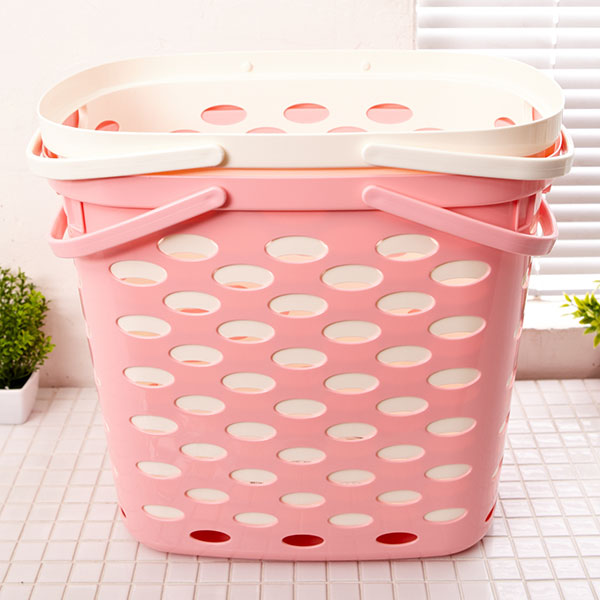 리빙 세탁 바구니 [제작 대량 도매 로고 인쇄 레이저 마킹 각인 나염 실크 uv 포장 공장 문의는 네이뽕]