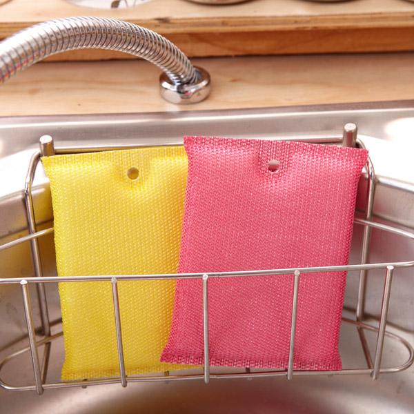 [네모난오렌지] 칼라 크리너 1p 소 주방수세미 설거지 스폰지