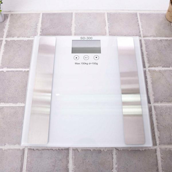 디지털 체지방 체중계 SD-300 [제작 대량 도매 로고 인쇄 레이저 마킹 각인 나염 실크 uv 포장 공장 문의는 네이뽕]