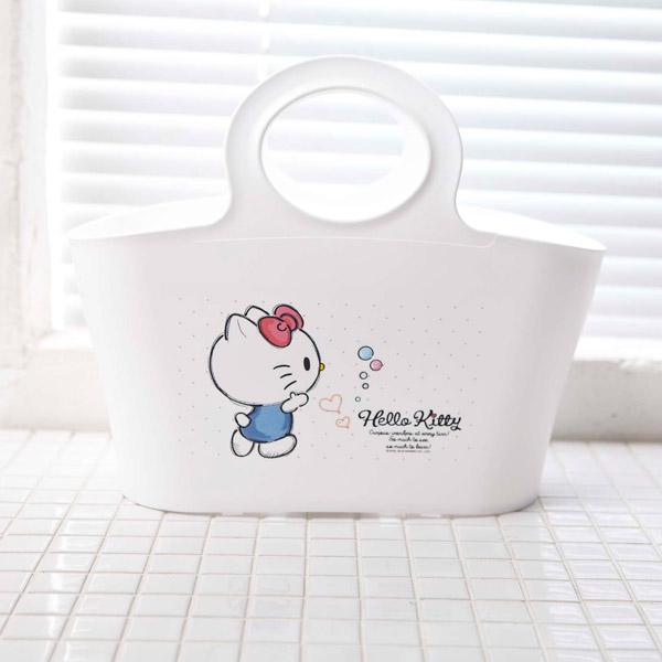 헬로키티 레터 목욕 바스켓