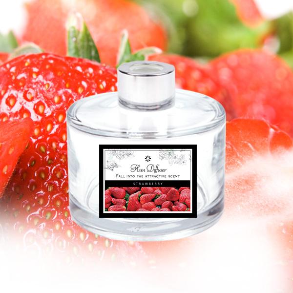 [더산콜]ABM(K) 유리병디퓨저(딸기)스틱은 별도구매