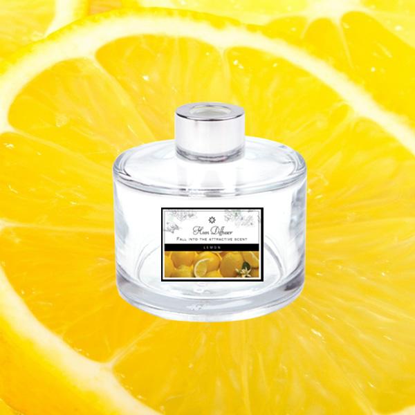 ABM(K)유리병디퓨저(레몬) [제작 대량 도매 로고 인쇄 레이저 마킹 각인 나염 실크 uv 포장 공장 문의는 네이뽕]