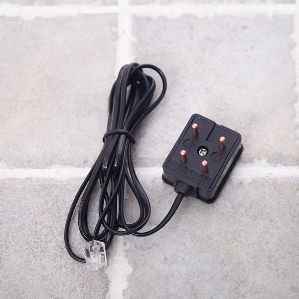 전화 엘 코드 1.7m [제작 대량 도매 로고 인쇄 레이저 마킹 각인 나염 실크 uv 포장 공장 문의는 네이뽕]