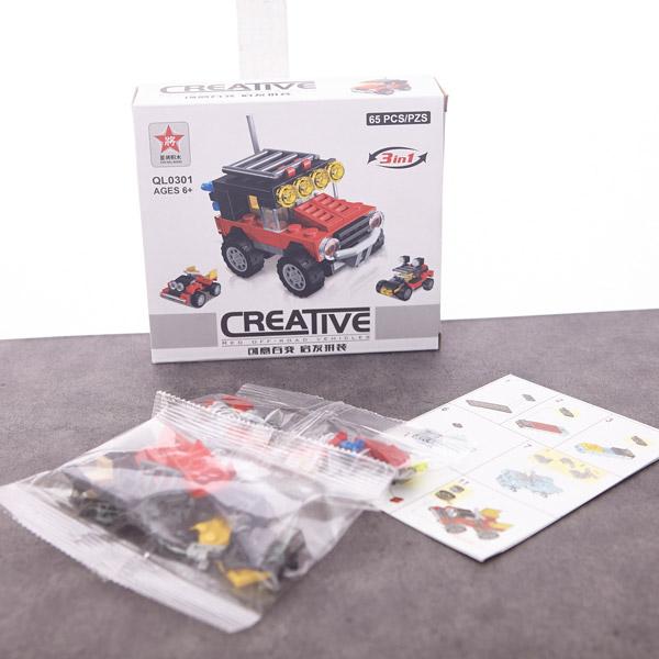 [현재분류명],크리에이티브 차 블럭 QL0301 4000 (색상랜덤),퍼즐놀이,유아블럭,나노퍼즐,퍼즐액자,3d퍼즐