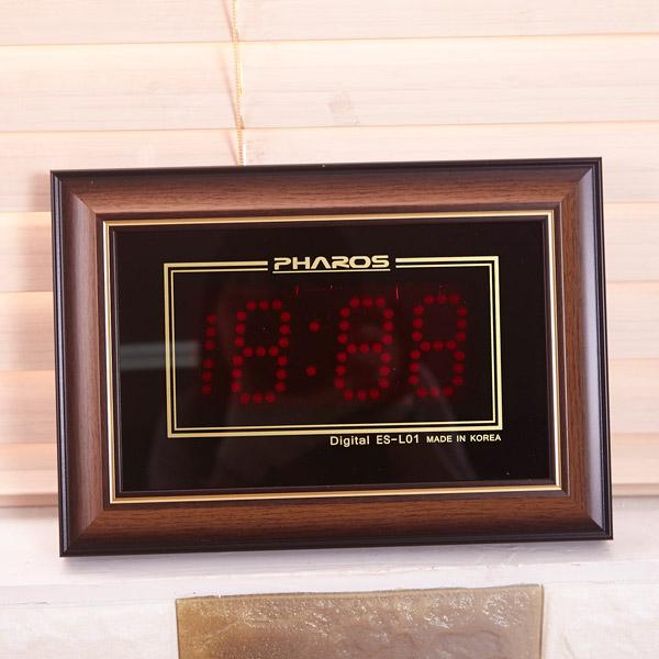 L01 전자 벽시계 [제작 대량 도매 로고 인쇄 레이저 마킹 각인 나염 실크 uv 포장 공장 문의는 네이뽕]