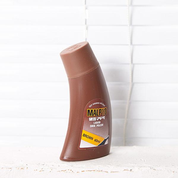 액체 구두약 (갈색)