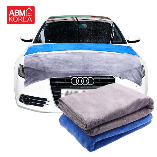 ABM 빅세차 타올 블루60x160