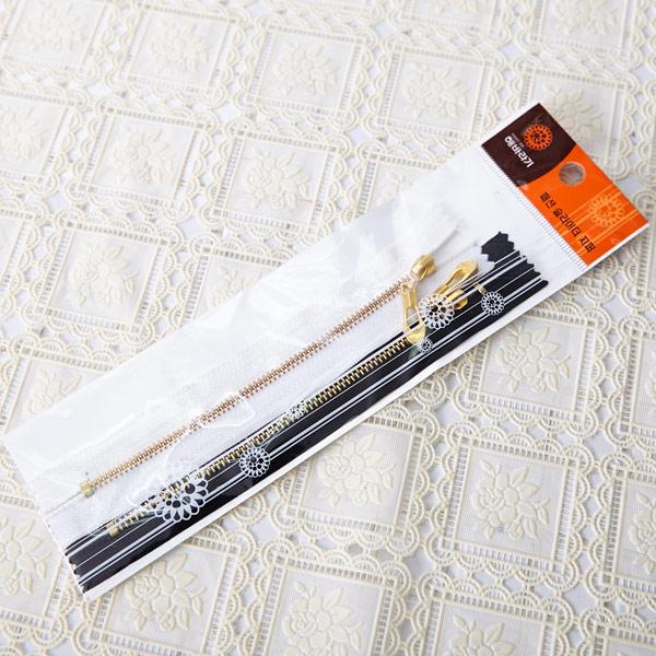 패션 슬라이더 지퍼 2입 [제작 대량 도매 로고 인쇄 레이저 마킹 각인 나염 실크 uv 포장 공장 문의는 네이뽕]