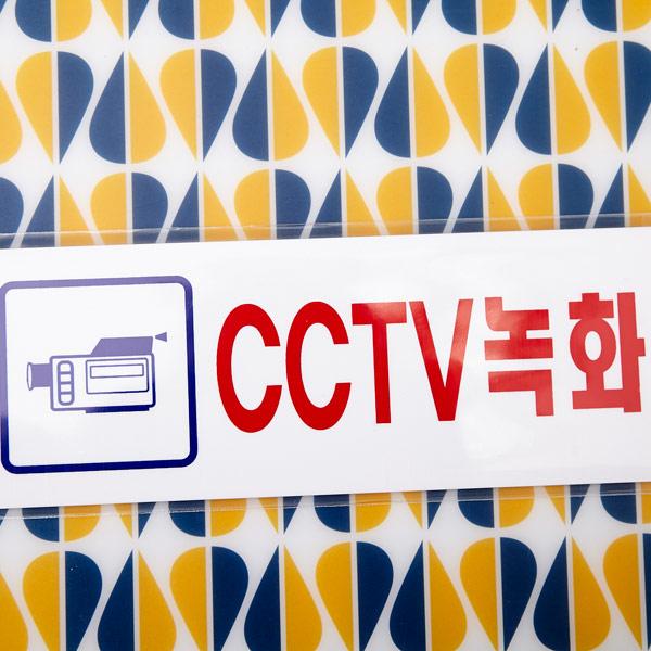 cctv 녹화중 (3576) 250x80mm