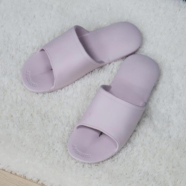 ABM(C)EVA힐링슬리퍼 그레이 핑크 색상랜덤 [제작 대량 도매 로고 인쇄 레이저 마킹 각인 나염 실크 uv 포장 공장 문의는 네이뽕]