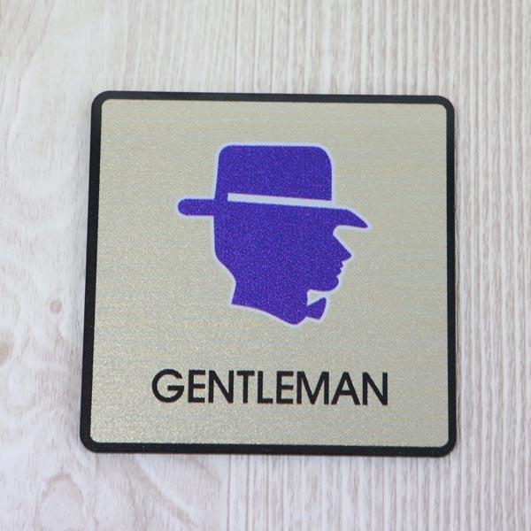 ABM(K)지엠사인(A) 남자화장실(골드) A-7 [제작 대량 도매 로고 인쇄 레이저 마킹 각인 나염 실크 uv 포장 공장 문의는 네이뽕]