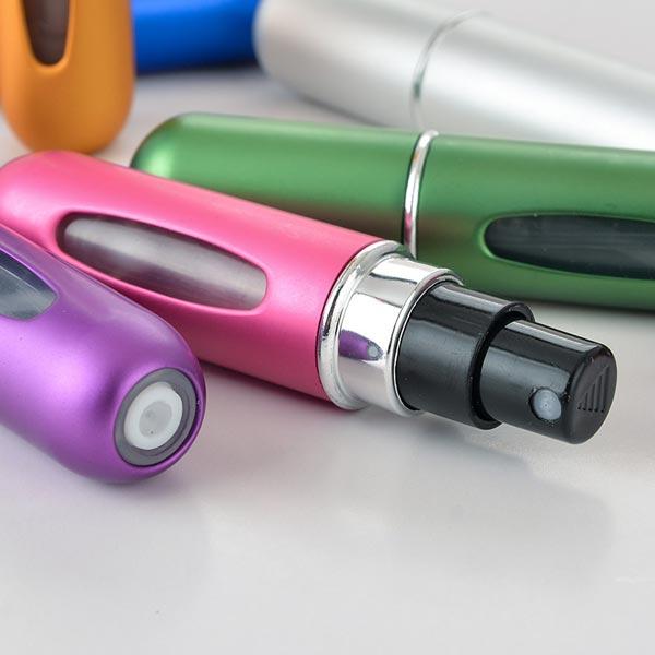 ABM 프리미엄 펌핑식향수공병 핑크 [제작 대량 도매 로고 인쇄 레이저 마킹 각인 나염 실크 uv 포장 공장 문의는 네이뽕]