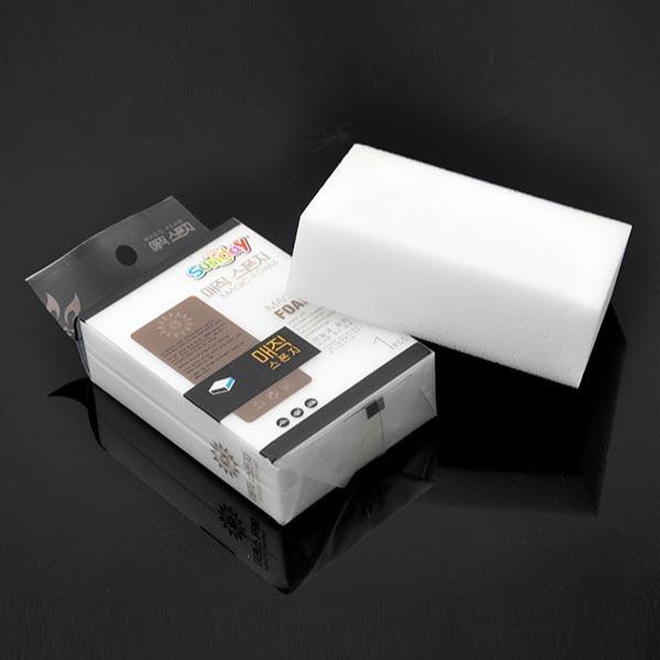 ABM SUNDAY 매직블럭크리너 1p [제작 대량 도매 로고 인쇄 레이저 마킹 각인 나염 실크 uv 포장 공장 문의는 네이뽕]