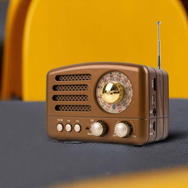 멀티스피커 앤틱스피커 소형라디오 휴대라디오 소형스피커