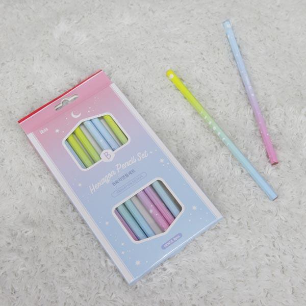 아이비스 b육각 연필세트 8본(2000)