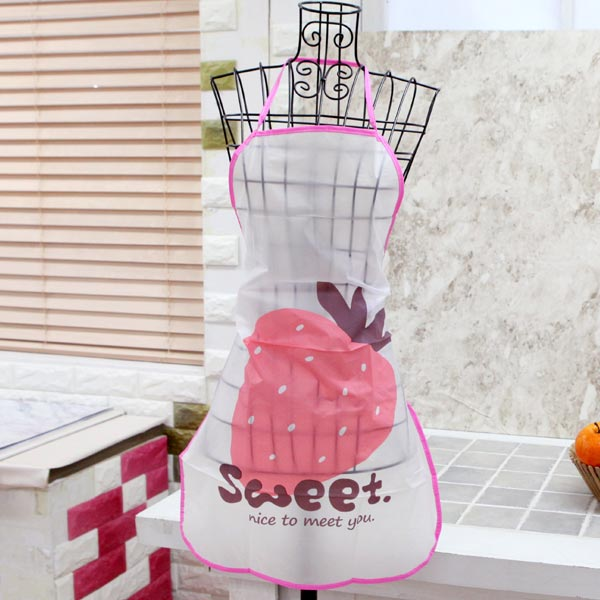 abm 캐릭터 방수 앞치마 딸기