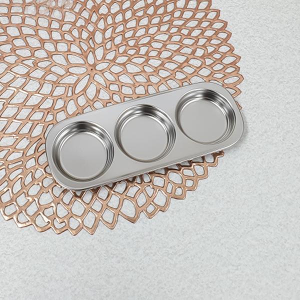 양념식판 3구 [제작 대량 도매 로고 인쇄 레이저 마킹 각인 나염 실크 uv 포장 공장 문의는 네이뽕]