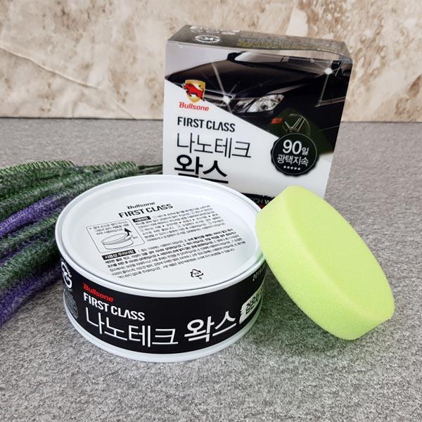 불스원 룩센나노테크왁스(검정유색)