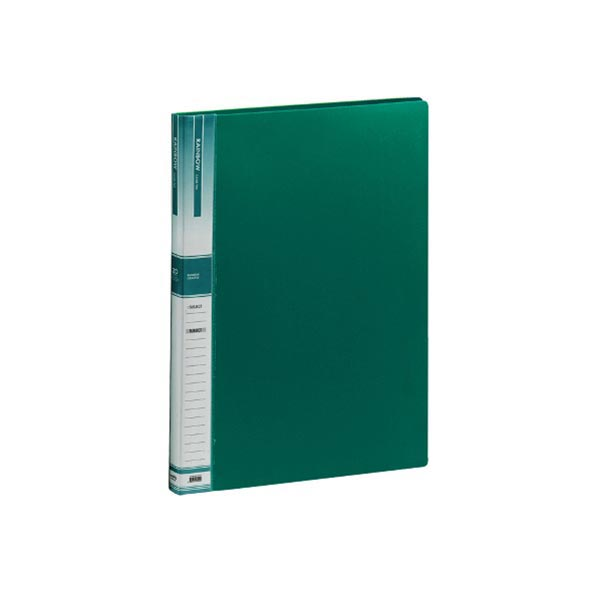 B4 20매 크리어파일 녹색 1P
