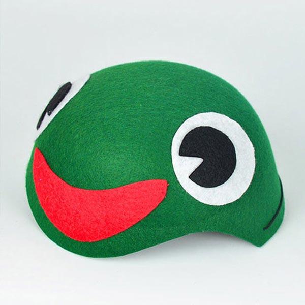 청개구리 모자 [제작 대량 도매 로고 인쇄 레이저 마킹 각인 나염 실크 uv 포장 공장 문의는 네이뽕]