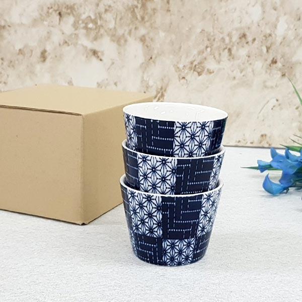 블루믹스 컵 믹스 3개 [제작 대량 도매 로고 인쇄 레이저 마킹 각인 나염 실크 uv 포장 공장 문의는 네이뽕]