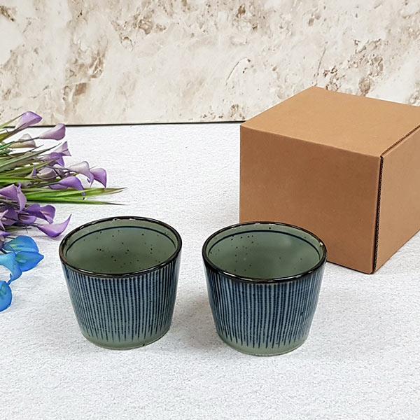 프루이 물컵 꽃 2개