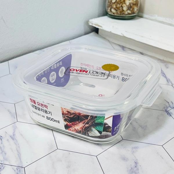 밀폐용기 플라스틱 오븐찬기 반찬보관 냉장고용기