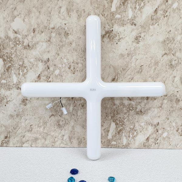 금호LED원형십자등60W P6065 (주광색) [제작 대량 도매 로고 인쇄 레이저 마킹 각인 나염 실크 uv 포장 공장 문의는 네이뽕]