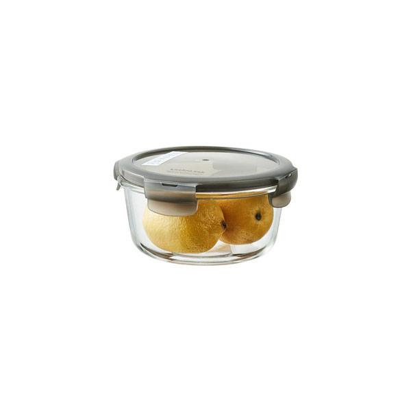 락앤락 오븐글라스 유로 내열 밀폐 원형 650ml(그레이)
