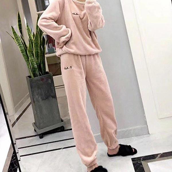 abm 여성 소프트 수면바지 free 핑크