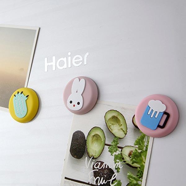 ABM 캐릭터 냉장고자석 호프 [제작 대량 도매 로고 인쇄 레이저 마킹 각인 나염 실크 uv 포장 공장 문의는 네이뽕]