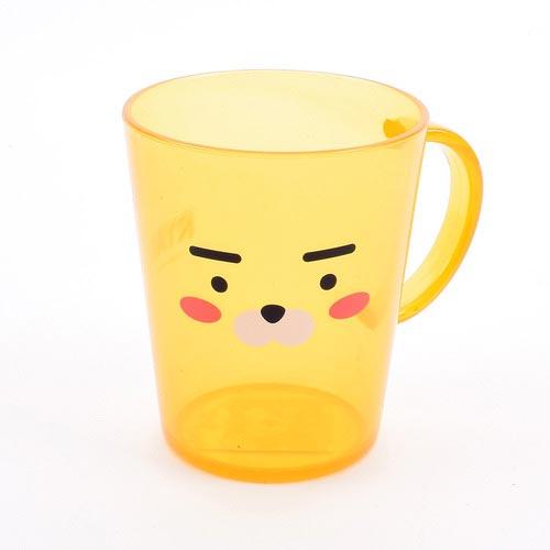 카카오 투명 양치컵 (라이언)
