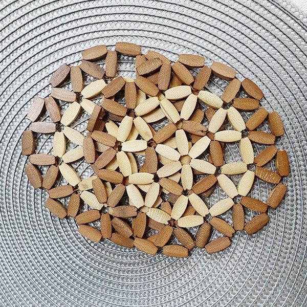 대나무 냄비받침(2개입)