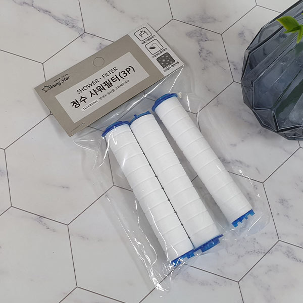 정수샤워기 필터 3p