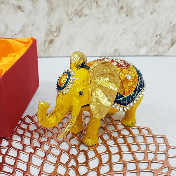 칠보 옐로우 코끼리 (소) (fh3217)