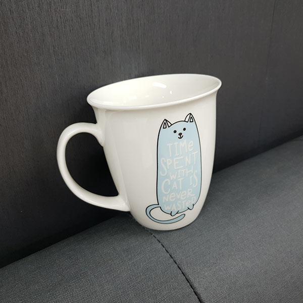 고양이 머그 (무늬랜덤) 1p