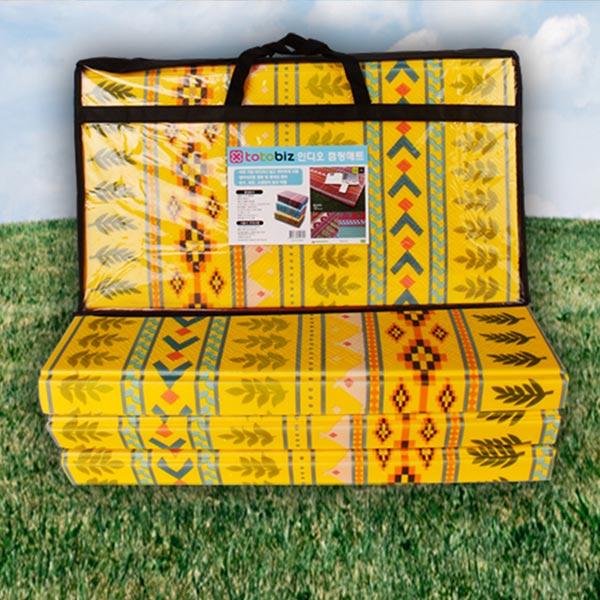인디오 캠핑매트 옐로우 200x240