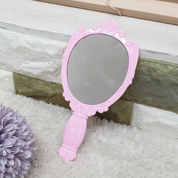 ABM 장미 손거울 핑크 (중)