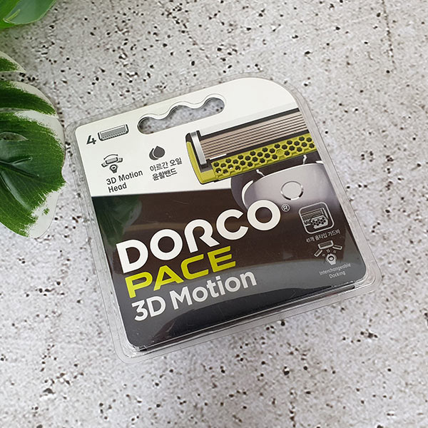 도루코 pace 3d motion 면도날
