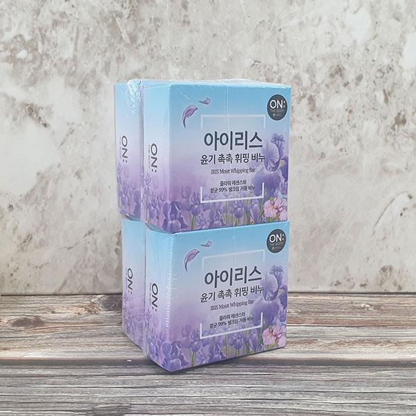 온더바디 아이리스 휘핑 비누 4개
