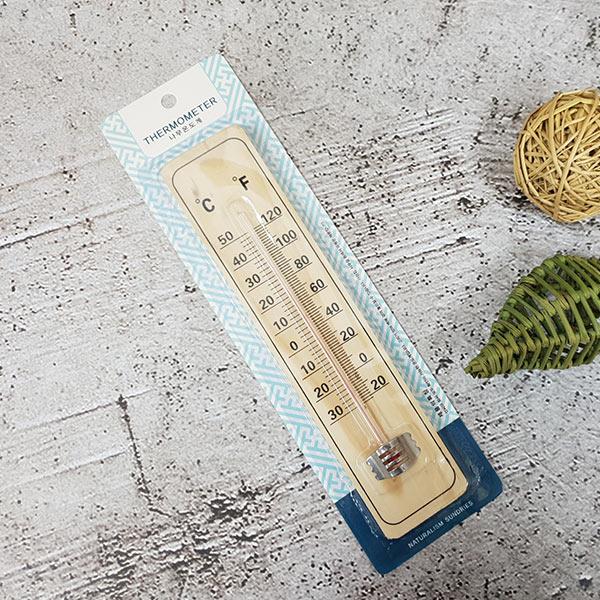 고급 나무온도계