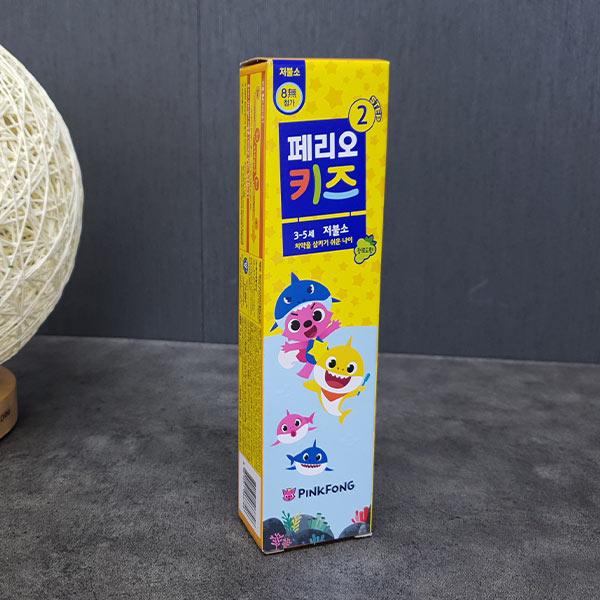 페리오 키즈치약 2단계 (3-5세)핑크퐁75g